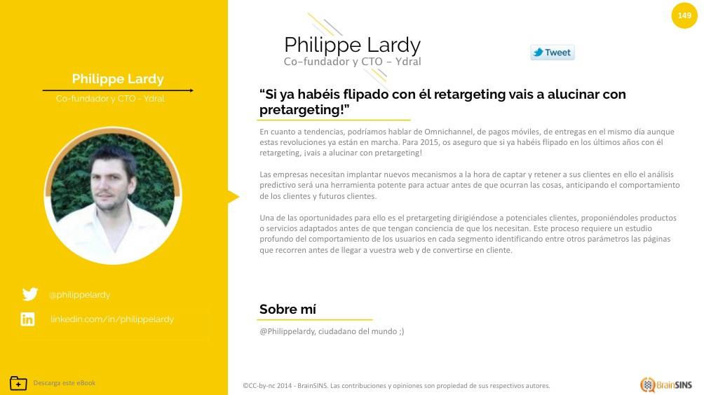 Tendencias ecommerce 2015 Philippe Lardy